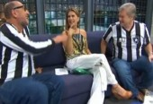 """Maitê Proença não cumpre promessa e CBF rebaixa o Botafogo novamente: """"Sem nudes, sem Série A"""""""