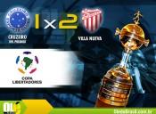 Cruzeiro perde para Villa Nueva e se complica na Pré Libertadores