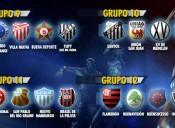 Confira os grupos de Cruzeiro, Flamengo, Internacional e Santos na Libertadores