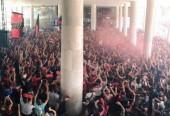 Média de público do Flamengo no aeroporto é maior que a de Botafogo e Flu juntos no Brasileirão